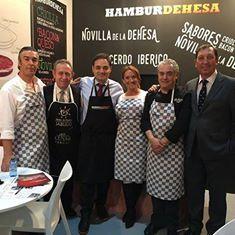 Todo el equipo de Hamburdehesa en Feria Alimentaria 2016 de Barcelona. Espectacular edición con una participación destacada de nuestros productos de alta calidad.