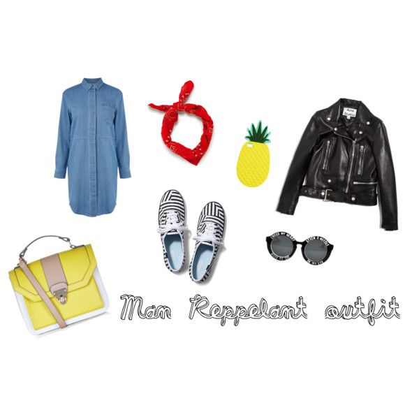 Man Reppelant weekend outfit by zana-boema on Polyvore featuring Warehouse, Acne Studios, Keds, Accessorize and Zara