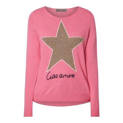 Pullover Met Geborduurd Motief En Tekst Sweaters Fashion Graphic Sweatshirt
