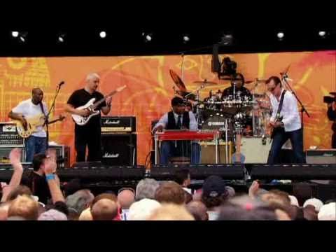 "Crossroads 2010 - ""Going Down"" - Joe Bonamassa, Pino Daniele & Robert Randolph - YouTube  (The guitar playing in this video is amazing.  Joe Bonamassa is insanely talented.)"