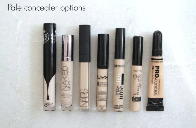 Pale concealers- who's the fairest of them all?