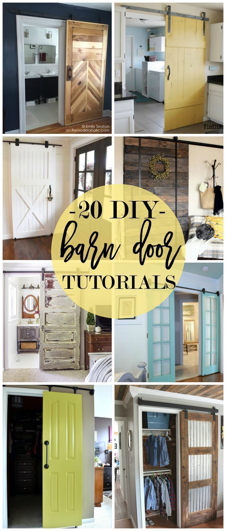 20 diy barn door tutorials einrichten und wohnen und wohnen. Black Bedroom Furniture Sets. Home Design Ideas