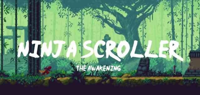 Ninja Scroller per iPhone e Android – Shinobi incontra i runner game! Ninja Scroller – The Awakening per iPhone e Android riprende a piene mani lo stile retrò del mitico Shinobi unendolo a un classico runner game, per la gioia dei vecchietti e degli appassionati di que #ninja #runnergame #android #iphone