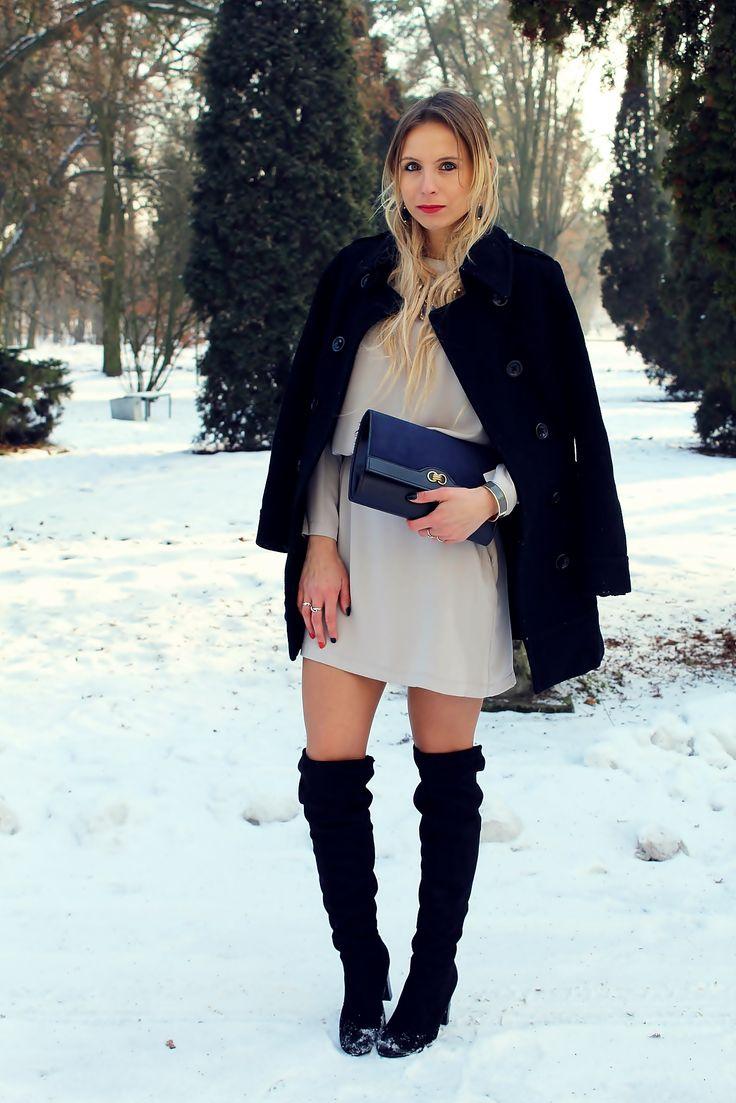 #sandicious #look #outfit #fashion #stylizacja #kneeboots #muszkieterki #kozakizakolano #blondegirl #blogerkamodowa #fashionblogger
