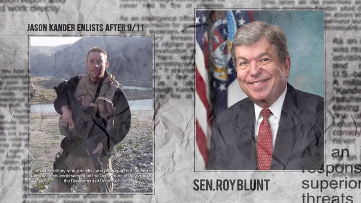 Jason Kander served his country. Roy Blunt served himself.