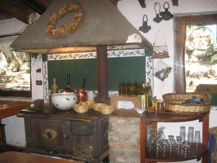 Cocina a leña en Tandil, Argentina
