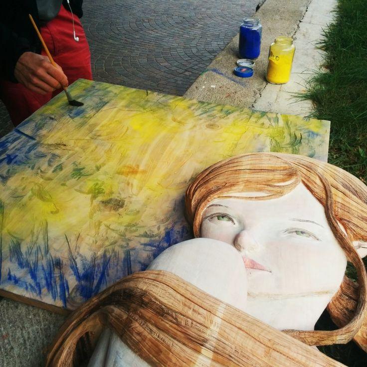 Il #Simposio di #Scultura al Pineta dal 17 al 24 ottobre ecco l'opera di #zenigianluigi 2014