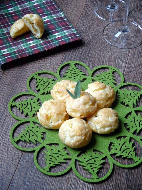 Gougeres – Cheese Savouries from Dragonfly in Amber