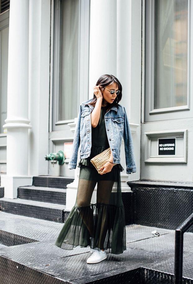 12 τρόποι να φορέσεις το τζιν μπουφάν σου αυτή τη σεζόν - Μόδα   Ladylike.gr