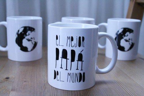 Hazte ya con la taza para el mejor papá del mundo y de paso echa un ojo a todas las tazas que tenemos nuevas en la web :)