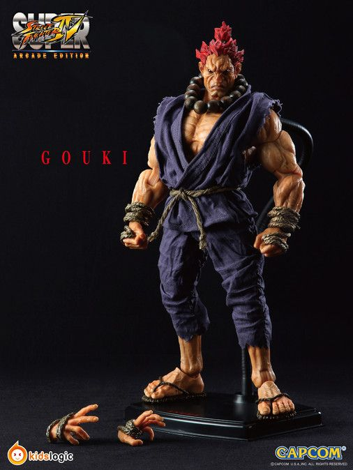 Action Nations 1/6 Scale Street Fighter IV Action Figure - Akuma (Gouki)