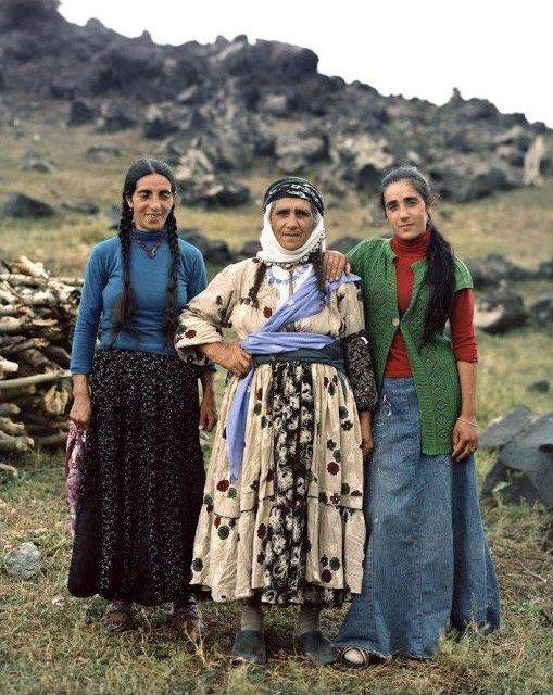 Kurdish/Turkish women