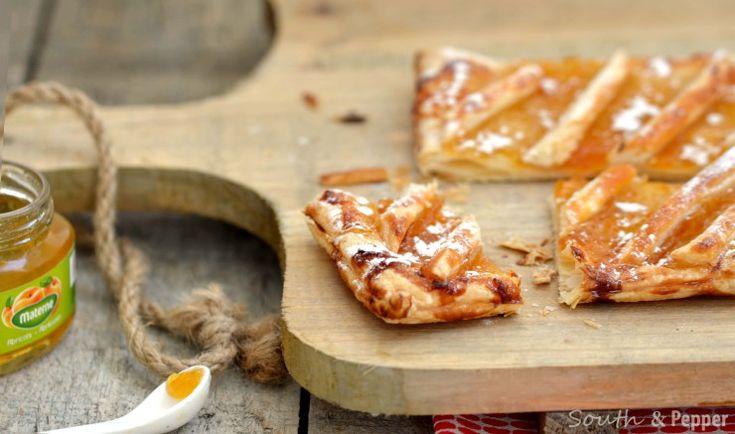 Een makkelijk en heerlijk gebakje als vieruurtje: Belgische carré confituurtjes.#gebak #recept #confituur #jam #simpel #taart
