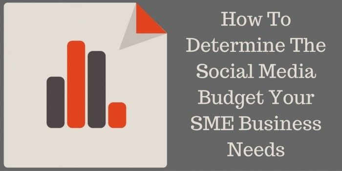 How To Determine The Social Media Budget Your SME Business Needs http://rite.ly/jdkM