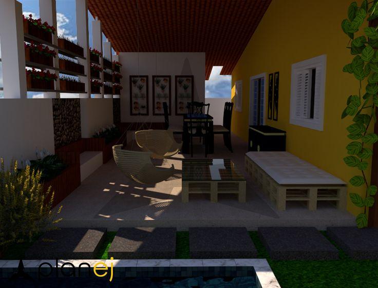 Projeto de Paisagismo do cliente Mário. #arquitetura #paisagista #paisagismo #areaverde