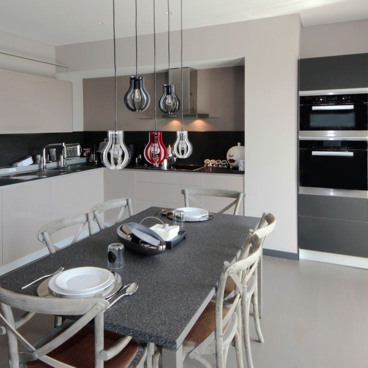 Sem Collections, Fenerbahçe Marina Palas project... Valcucine kitchen.
