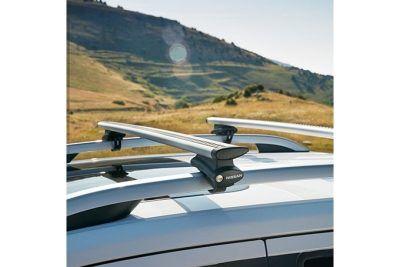 Nissan Navara Double Cab - Barres de toit aluminium (pour véhicule non-équipé de rails d'origine)
