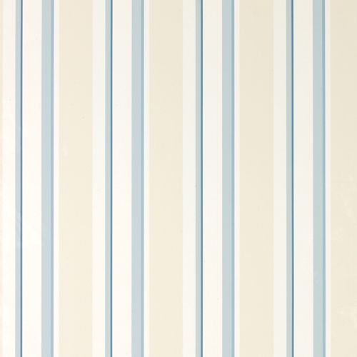 Laura Ashley Eaton Stripe Seaspray Wallpaper