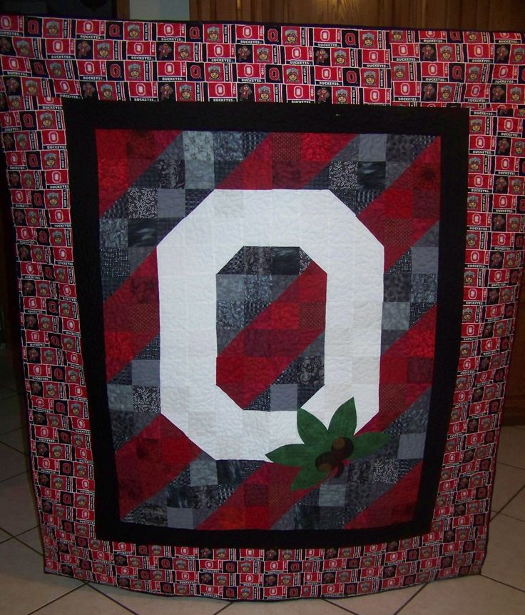 Ohio State Homemade Quilt By Sewmanyquilts2013 On Etsy