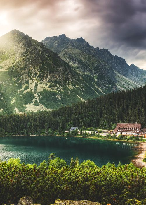 Poprad Pond, High Tatras, Slovakia by Karol Czinege Follow