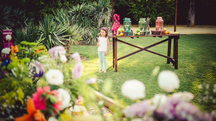Fiesta tropical de La Tienda de Renata. Una tienda de decoración para bodas, fiestas y el hogar. Tropical Party.