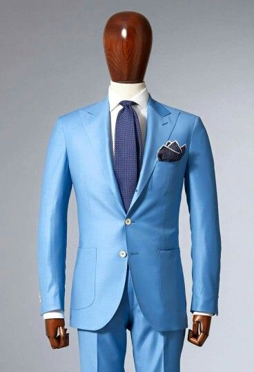 15 best Trajes images on Pinterest | Menswear, Man style and Blue suits