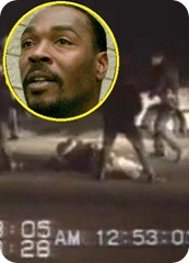 Rodney King, video taped being brutaly beaten by LA police in 1992, died at age 47.