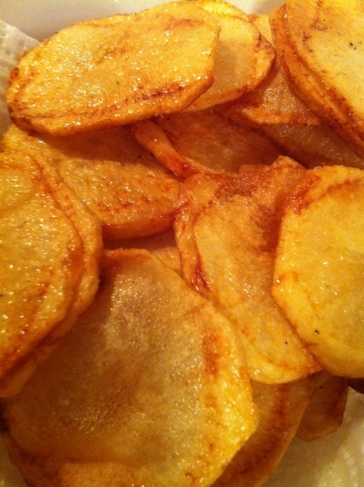 Montgomery Inn Saratoga Chips recipe! These are addicting!