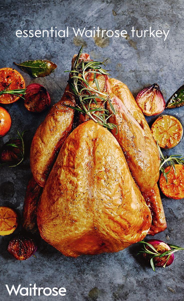 Discover the essential Waitrose turkey for your Christmas dinner. Our brilliant value turkey is supplied by a long-established group of carefully selected farmers and comes in a range of weights. Click through and find out more about Waitrose Entertaining, our made to order food service.