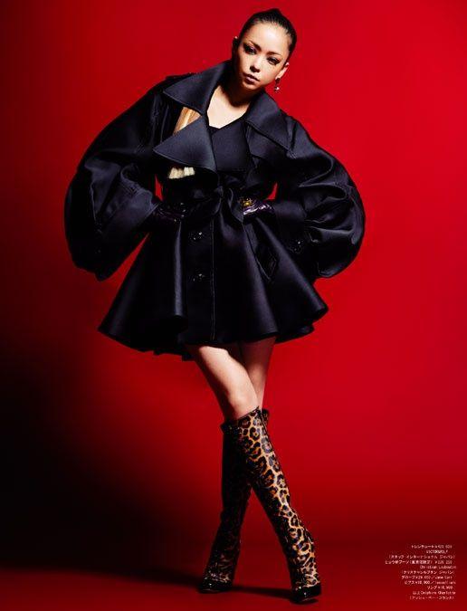 安室奈美恵×クリスチャン・ルブタン 20周年記念スペシャルコラボが実現 画像提供:WWD japan