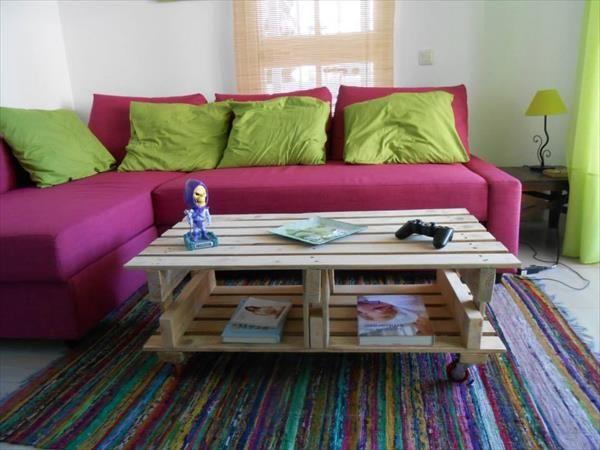 DIY Pallet Coffee Table Tutorial | 99 Pallets