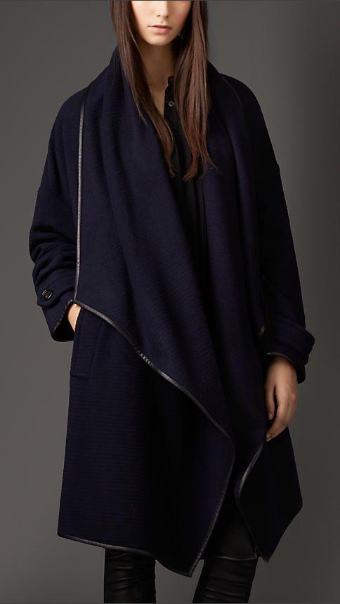 Burberry London Cashmere Wrap Coat