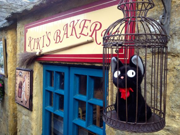 Visit Kiki's Bakery at a unique fairytale village in Japan