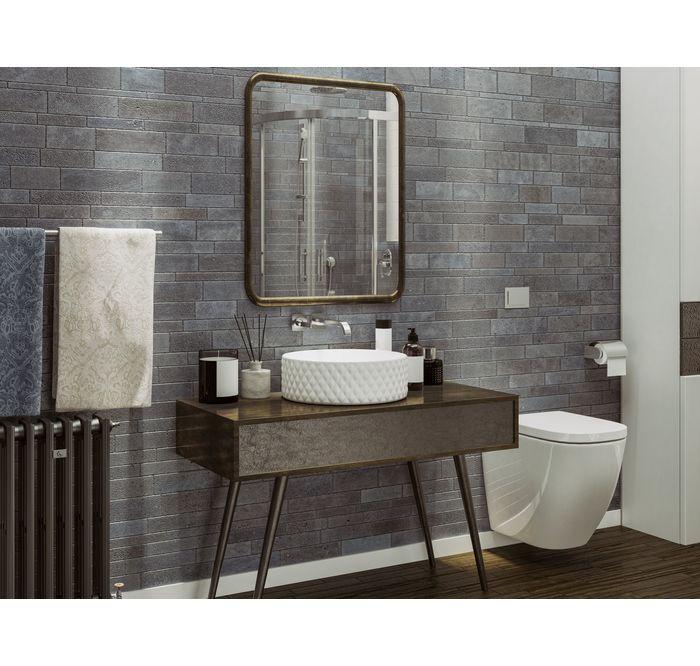 Lazienka Z Drewnianymi Akcentami Leroy Merlin Kamien Elewacyjny Milano Volcano 20 5 X 7 Cm Inc Bathroom Trends Bathroom Design Trends Latest Bathroom Trends
