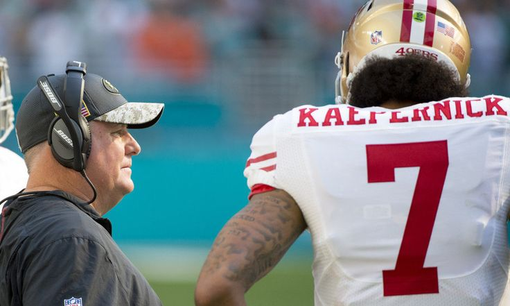 Chip Kelly: Colin Kaepernick created 'zero distraction' last year = Colin Kaepernick immediately morphed from a former Super Bowl-starting quarterback to the nation's most polarizing athlete last August when he refused to stand for the national anthem during the San Francisco 49ers' preseason games. Although he continued that stance throughout the season, drawing harsh criticism from a sizable sect of the country, Kaepernick's most recent head coach said he did not create any distraction for…