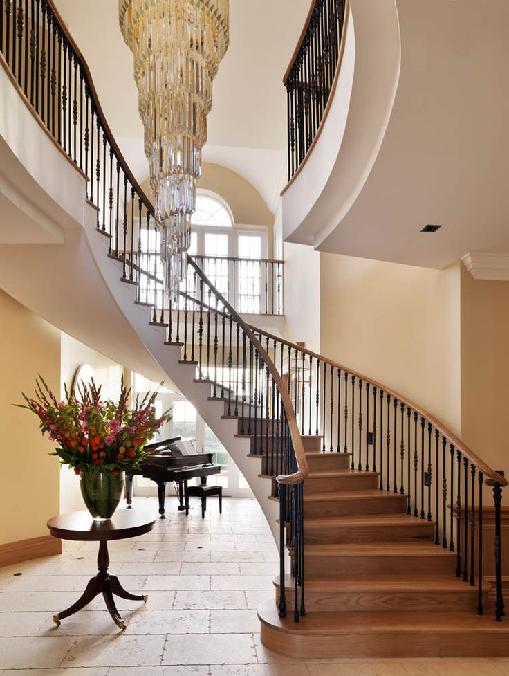 132 Best Images About Staircases And Foyers On Pinterest