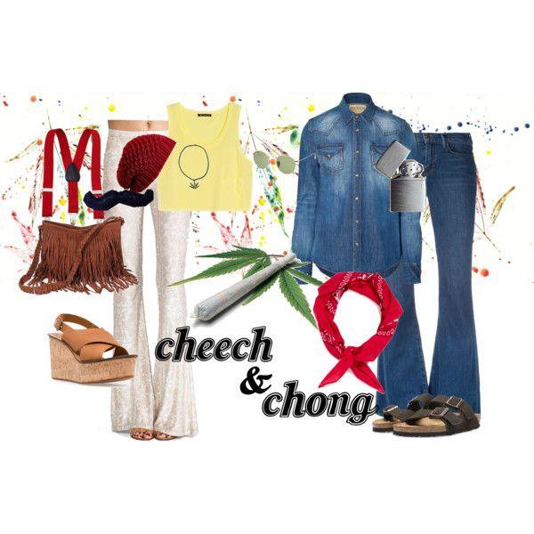 "Couples ""Cheech  Chong Costume"" Polyvore"