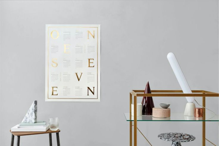 4 Modern Calendars for 2017 & a Free Calendar Download // Alexandria Mavis Blog