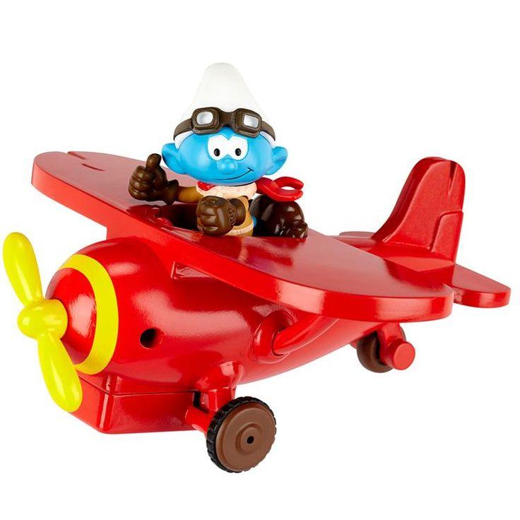 Şirinler Pilot Şirin Ve Araç Figür Set  #figür #şirinler #oyuncak #bitirimoyuncak