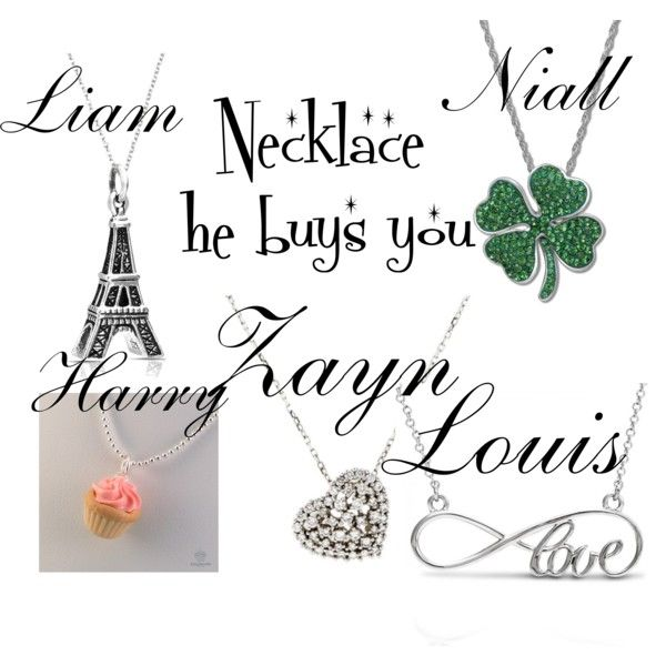 One Direction Preference; necklace