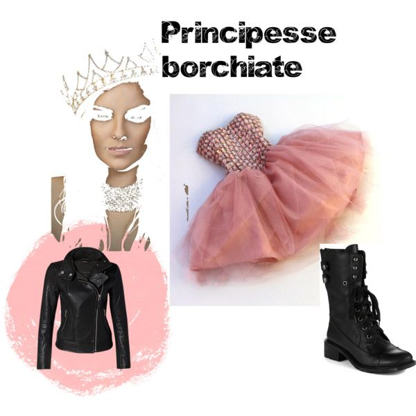 """""""Principesse Borchiate"""" by ladri-di-idee on Polyvore"""