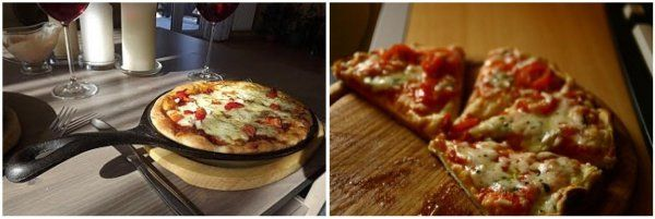 Szybka pizza z patelni -10 minut robienia i tyle samo smażenia!