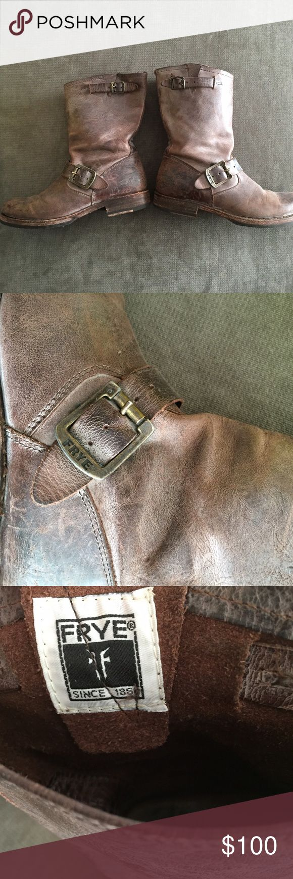 Frye Veronica Short Boot Super cute and durable boot! Too small on me now. Frye Shoes Combat & Moto Boots