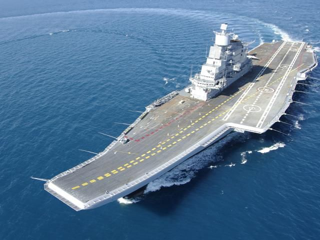 Slideshow : All about INS Vikramaditya - INS Vikramaditya: All about India's second aircraft carrier | The Economic Times