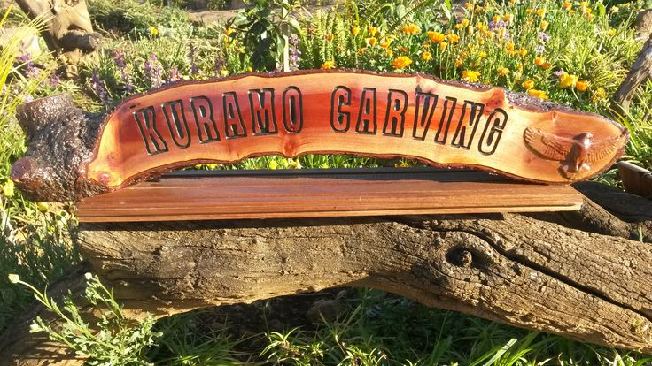 Log carving