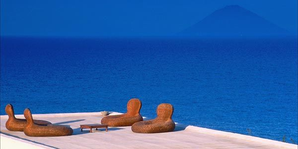 Capofaro on Salina, Aeolian Islands, Italy: a boutique resort in a working vineyard on Salina - one of the lusher and less touristy Aeolian Islands. http://www.i-escape.com/capofaro/overview