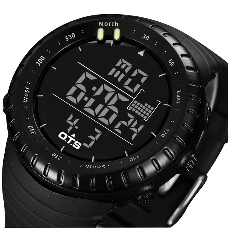Top Brand OTS Cool Black Mens Fashion Large Face LED Digital Swimming Climbing Outdoor Man Sports Watches Christmas Boys Gift Oh just take a look at this!  #shop #beauty #Woman's fashion #Products #Watch