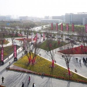 Zhengzhou Vanke City Gallery by Locus Associates « Landscape Architecture Works | Landezine