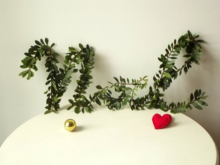 Ma Petite Maison: diy christmas greenery garland #thecreativefactory #handmadechristmas2016 #decorations