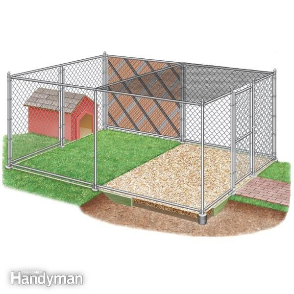 Follow these guidelines for building an outdoor dog kennel, including expert advice on kennel size, fencing materials, flooring, the dog house and other topics.